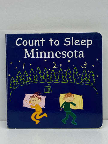 Our World of Books - Count to Sleep Minnesota
