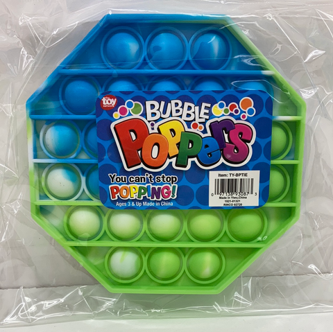"Toy Network Bubble Poppers - 5"" Tie Dye"
