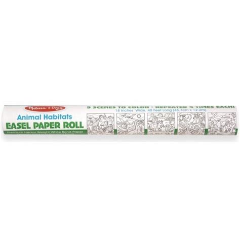 Melissa & Doug - Animal Habitats Easel Paper Roll