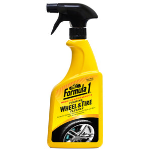 WHEEL & TYRE CLEANER FOAMING 680ML SPRAY F1