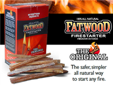 Load image into Gallery viewer, FATWOOD FIRESTARTER BOX 710G
