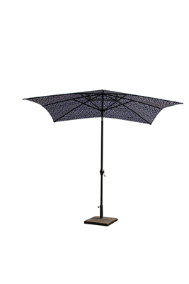 UMBRELLA MARKET ALUMINIUM BLUE