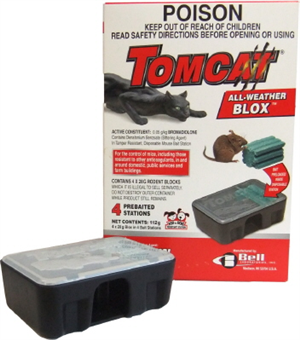 PRE BAITED STATION MOUSE CARTON OF 48 TOMCAT