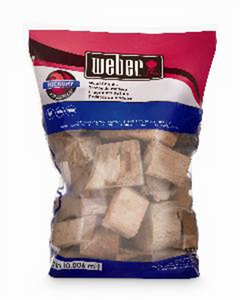 WOOD CHUNKS HICKORY WEBER 1.8KG