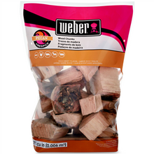 Load image into Gallery viewer, WOOD CHUNKS HICKORY WEBER 1.8KG