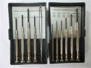 SCREWDRIVER PRECISION SET 11PC BUY RIGHT