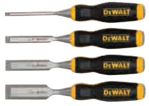 CHISEL WOOD 4PC SET DEWALT