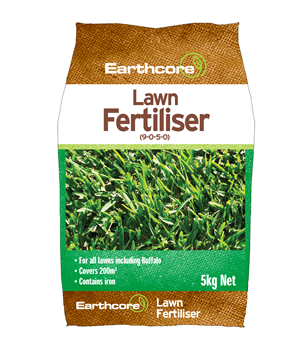 LAWN FERTILISER 5KG EARTHCORE