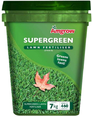 FERTILIZER LAWN SUPERGREEN 7KG