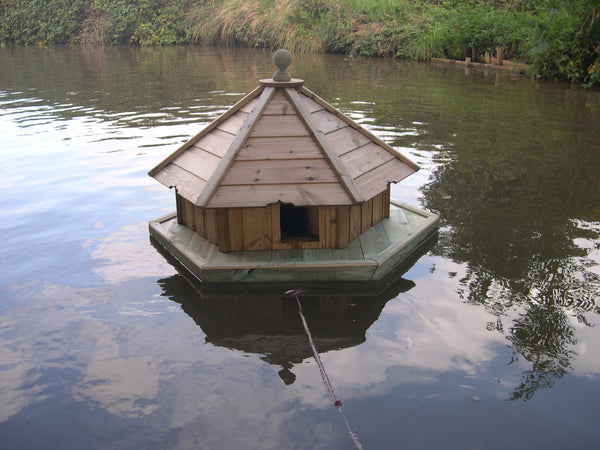 Large Hexagonal Duck House and Float