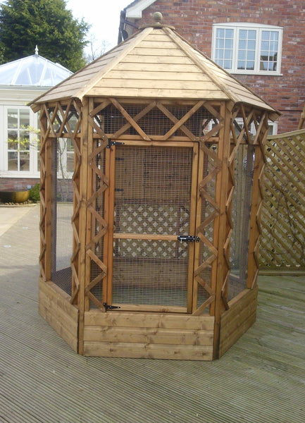 Victorian Hexagonal Aviary