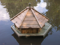 Small Hexagonal Duck House and Float