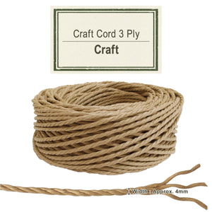 Craft [Paper Cord 3ply]