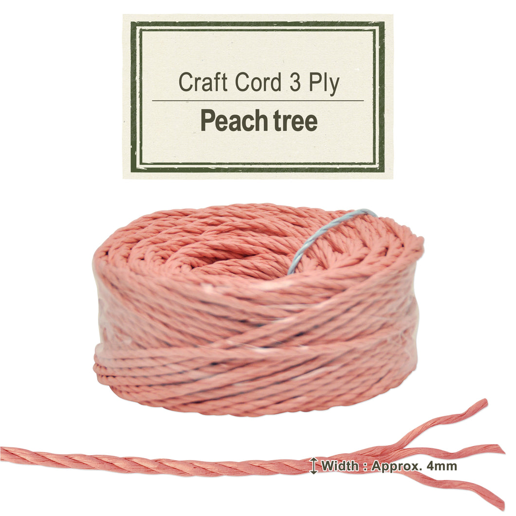 Peach Tree [Paper Cord 3ply]
