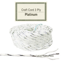 Load image into Gallery viewer, Platinum [Paper Cord 3ply]