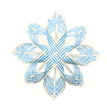 Load image into Gallery viewer, DIY Extra Large Woven Nordic Star Ornament/ Tree Topper [Craft Band] Level: Intermediate
