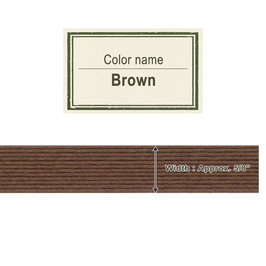 Brown  15mm