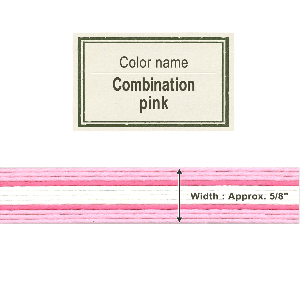 Combo Pink 15mm [Craft Band]