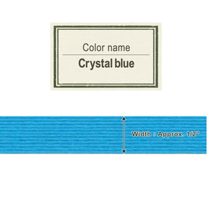 Crystal Blue 13mm [Craft Band]