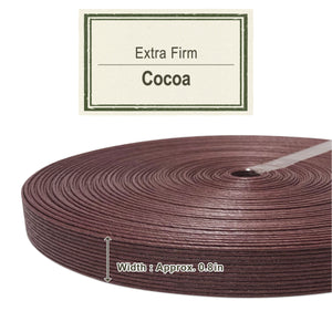 Cocoa 20mm [Extra Firm Craft Band]