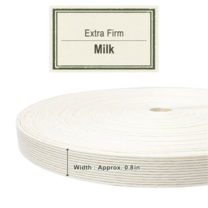 Milk 20mm [Extra Firm Craft Band]