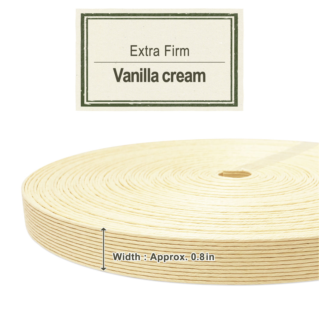 Vanilla Cream 20mm [Extra Firm Craft Band]