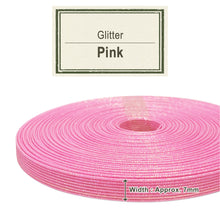 Load image into Gallery viewer, Pink 7mm [Glitter Craft Band]