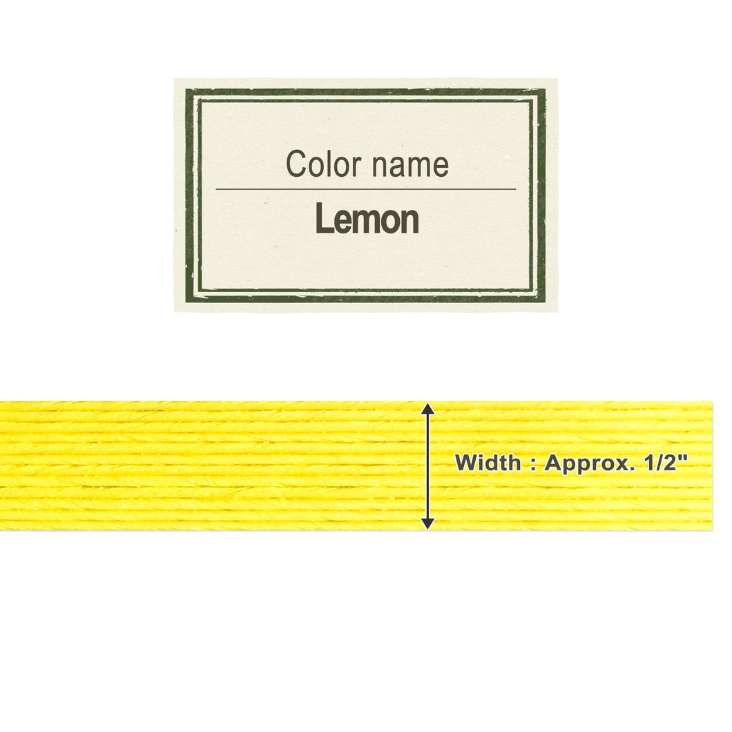 Lemon 13mm [Craft Band]