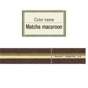 Matcha Macaroon  15mm [Craft Band]