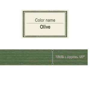 Olive 13mm [Craft Band]