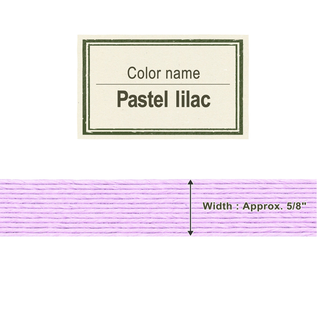 Pastel Lilac 15mm [Craft Band]