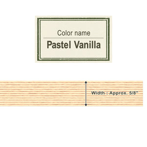 Pastel Vanilla  15mm [Craft Band]