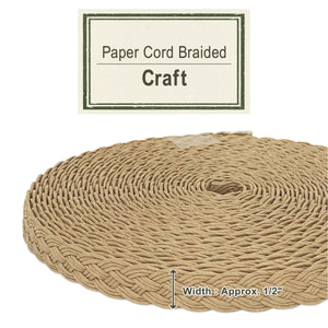 Craft 14mm [Paper Cord Braided]