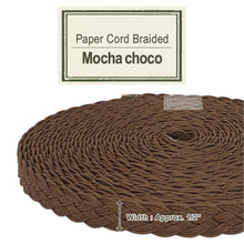 Load image into Gallery viewer, Mocha Choco 14mm [Paper Cord Braided]