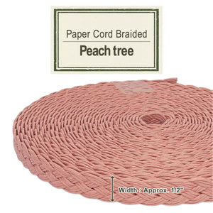 Peach Tree [Paper Cord Braided]