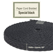 Load image into Gallery viewer, Special Black 14mm [Paper Cord Braided]