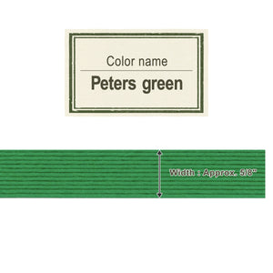 Peaters Green 15mm [Craft Band]