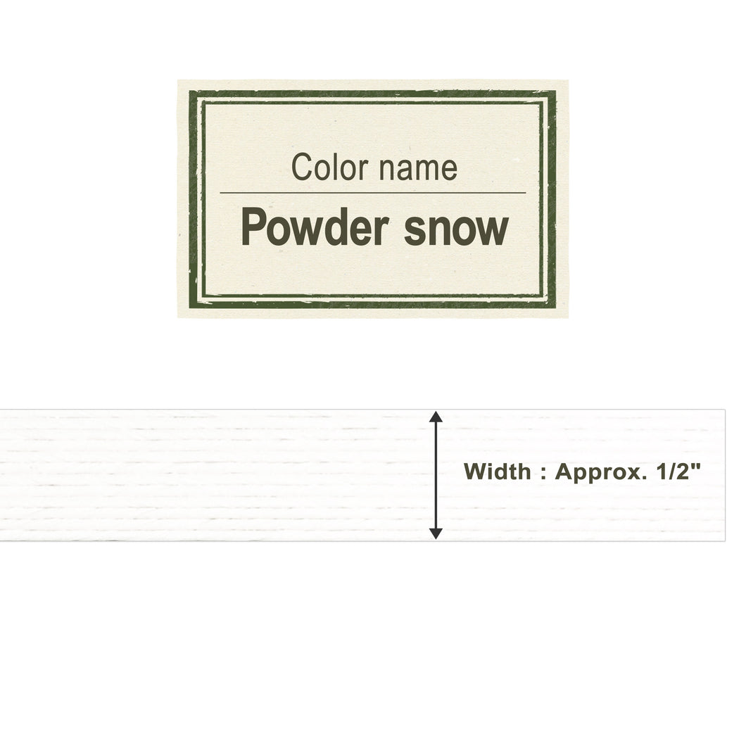 Powder Snow 13mm