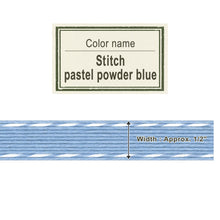 Load image into Gallery viewer, Stitch Pastel Powder Blue   13mm [Craft Band]
