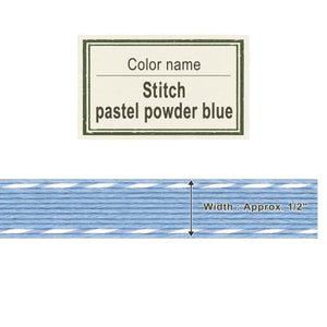 Stitch Pastel Powder Blue   13mm [Craft Band]