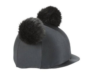Shires Double Pom Pom Hat Cover