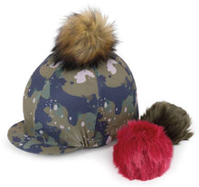 Load image into Gallery viewer, Shires Switch It Pom Pom Hat Cover