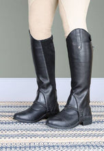 Load image into Gallery viewer, Shires Moretta Synthetic Gaiters - Adult