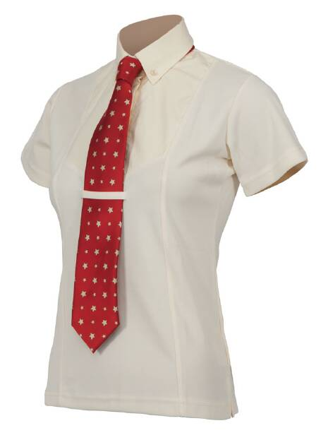 Shires Short Sleeve Tie Shirt - Childrens