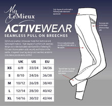 Load image into Gallery viewer, LeMieux Activewear Pull On Seamless Breech