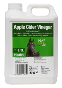 NAF Apple Cider Vinegar 2.5Ltr