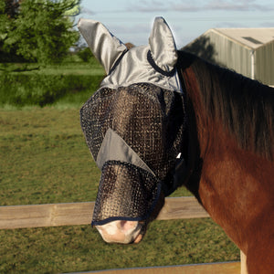 Legacy Rip-Stop Fly Mask With Ears or with Nose & Ears
