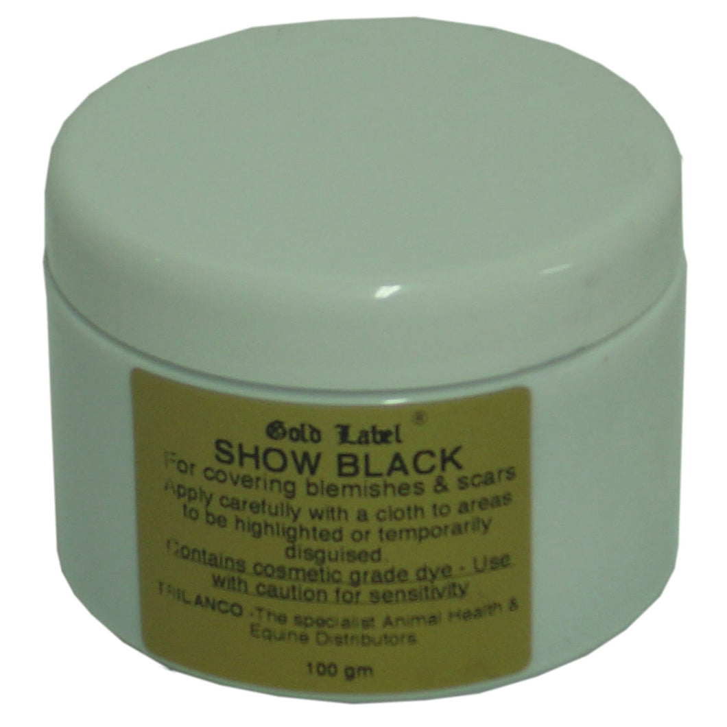 GOLD LABEL SHOW BLACK