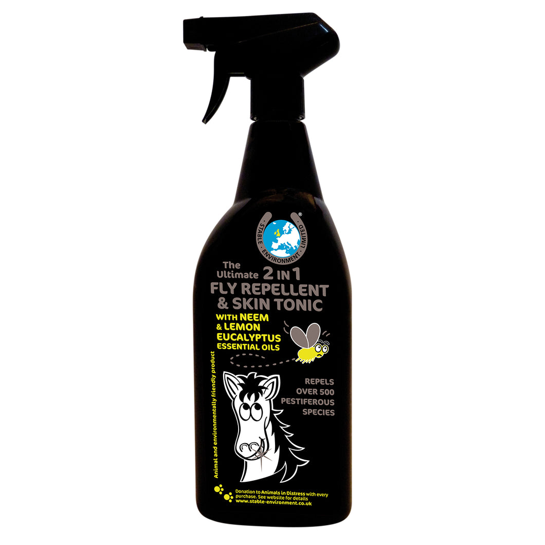 THE ULTIMATE 2 IN 1 FLY REPELLENT & SKIN TONIC