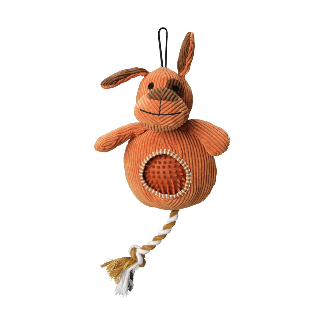 House of Paws Cord Toy with Spiky Ball